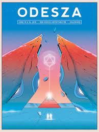 Concert Poster Design Best Red Rocks Concert Poster Designs Of 2018 Groundfloor
