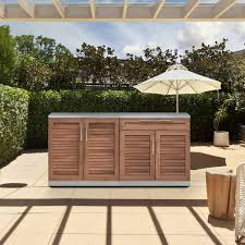 Newage Products Grove Stainless Steel 3 Piece Outdoor Kitchen