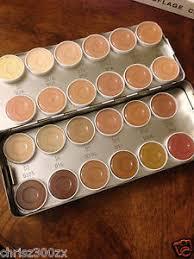 image is loading kryolan dermacolor camouflage creme 24 color show makeup