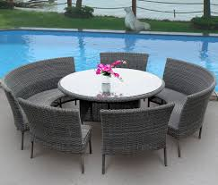 ... Patio, Grey Round Modern Rattan Patio Sets Sale Stained Ideas For Home  Depot Patio Sets