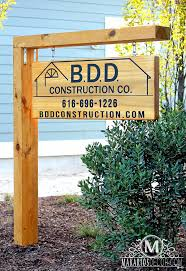 Wood Address Signs Outdoor Decor Driveway Signs Outdoor Address Sign Makarios Decor 23