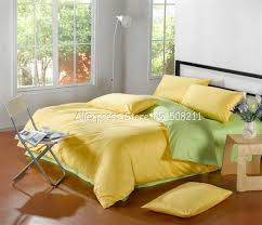 yellow bedding sets interior design ideas