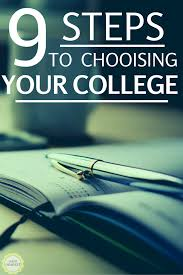 semester goals spring dani dearest 9 steps to choosing the right college