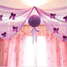 Wedding Decoration Tulle Flower Ball Centerpieces Rose Pompom Bachelorette  Party Decorative Artificial Flowers Foam Decor-in Artificial & Dried  Flowers from ...