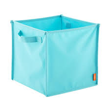 Aqua Poppin Pop Up Fabric Storage Cube ...