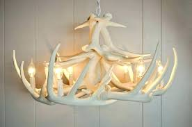 how to make antler chandeliers antler chandelier white antler chandelier faux alluring kit picture elk antler