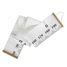 Okdeals Baby Height Growth Chart Hanging Rulers Kids Room