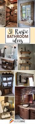 Bathroom Decor 17 Best Ideas About Rustic Bathroom Decor On Pinterest Half Bath