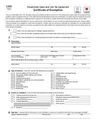 10 Elegant Tax Exempt Certificate | Motivatorsuper.com