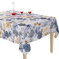 time foliage with holiday wishes birds and s vinyl flannel back tablecloth 60 round kitchen dining fv5rxyrql