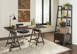 industrial style office furniture. Levi Industrial Style Office Desk Furniture L