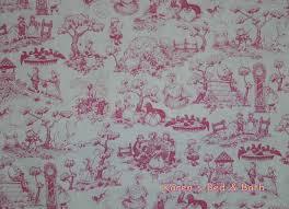 Winnie The Pooh Fabric Disney Eeyore Tigger Kite Toile Cotton ... & Mother Goose Fabric Story Book Fabric By Yard or Half Yard Nursery Rhymes  Pink Toile Fabric Cotton Quilting Fabric t5/12 Adamdwight.com