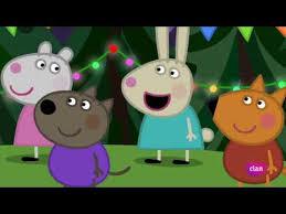 Peppa Pig La fiesta de cumpleaños de Wendy Wolf - YouTube