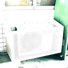decorative air conditioner covers wall units cover unique exterior a conditioning outdoor waterproof ac