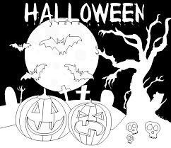 Animaux Coloriage De Halloween Qui Fait Peur Coloriage Halloween
