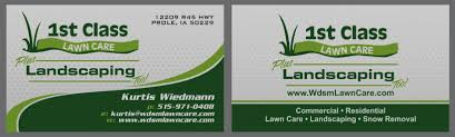 Landscaping Business Card Ideas Slogans Designs Sample Kit