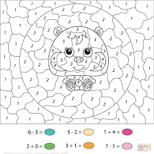 Small Picture Color By Number Pages Free Printable Color Number Coloring Pages