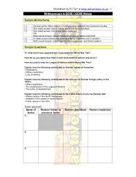 essay skills worksheet by rj tarr at activehistory co uk 1 writing essays