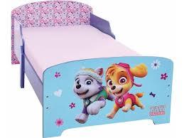 paw patrol girl toddler bed 70 x 140 cm multi including slatted