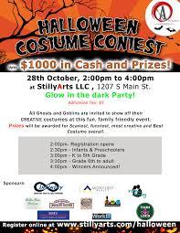Halloween Costume Contest Stillyarts Llc