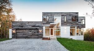 Astounding Home Exterior Design Using Contemporary House Siding Design :  Impressive Home Architecture Decoration Using Glass ...