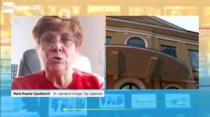 """Capobianchi, Spallanzani: """"ll virus è già mutato ma per ora nessun rischio""""  - Video - Rai News"""