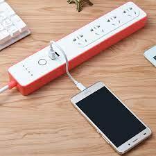 Ổ Cắm 4 Cổng Kéo Dài Điều Khiển Qua Wifi T.u.y.a TC4