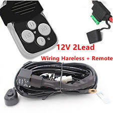chevrolet k10 pickup car truck fog driving lights 12v lead 40a remote control wiring harness kit switch relay led work light bar fits chevrolet k10 pickup