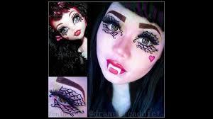 monster high draculaura makeup tutorial