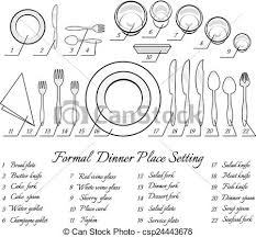 formal table settings. Formal Table Setting - Csp24443678 Settings