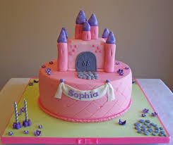 Castle Cake 9 Cake Featuring A Castle On Top All Edible Beth