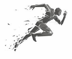 Geometry Running Illustration Man Free Download Png Running
