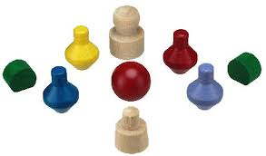 Wooden Game Pieces Bulk Maine Wood Concepts Wooden Toy Wood Game Parts 3