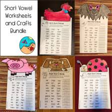 Turtle diary's phonics worksheets aim to help significantly advance your child's reading and writing skills. Phonics Worksheets First Grade Bundle And Crafts By Renee Miller