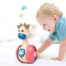 Con lật đật đồ chơi, biết trượt, gặm nướu cho trẻ bé, đồ chơi bằng nhựa an  toàn, dễ thương, có âm thanh tại TP. Hồ Chí Minh