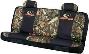spg bench seat cover covers spgmsc5404 mossy oak