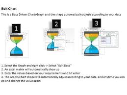 Hourglass Chart Excel Business Diagram Hour Glass With 3d Man And Icons Powerpoint
