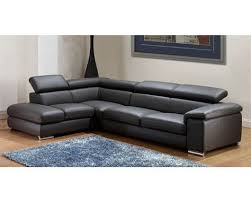 modern leather sectional couch.  Modern Leather Sectional Sofa Modern Sofa Set In Dark Grey  Finish 33LS131 Intended Couch