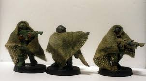 these are my snipers ghillie suits gauze and tea