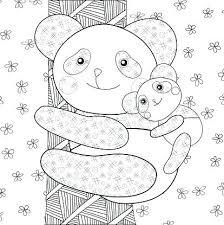 Panda Kleurplaat Panda 2 Panda Kleurplaat Volwassenen Shshiinfo