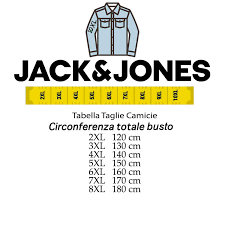 Jack And Jones Shirt Size Chart Jack Jones Plus Size Man Shirt Article 12143934 Blue