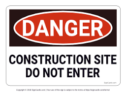 Printable Construction Signs Free Printable Safety Signs Page 2