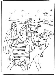 De Drie Wijzen 1 Bijbelkleurplaten Kerst