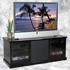 munari m2 contemporary black tv stand with smoke glass doors and wheels