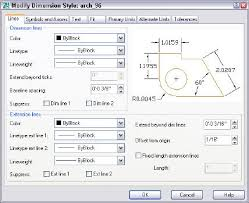 autocad dimension text size tutorial create an architectural dimension style autocad tips blog