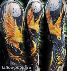 фото идеи тату феникс 18122018 476 Photo Ideas Tattoo Phoenix