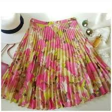 loft green skirt. ann taylor loft chiffon pleated skirt-petit loft green skirt