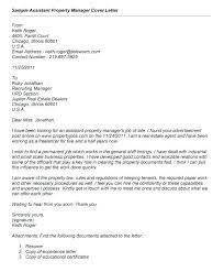 Cover Letter For Property Application Real Estate Cover Letter
