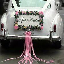 Wedding Car Decorations Accessories Wedding Car Decoration eBay 88