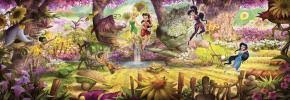 <b>Фотообои</b> Феи в лесу Komar 4-416 <b>Fairies Forest</b>. Купить в ...